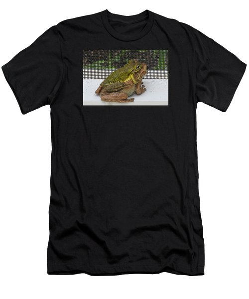 Froggy Love Men's T-Shirt (Athletic Fit)