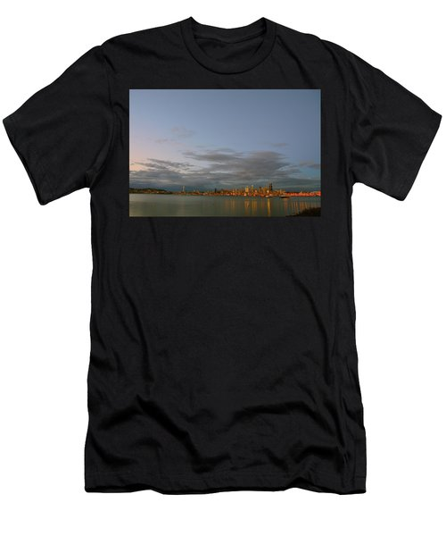 From Alki - Cloudy Night Men's T-Shirt (Athletic Fit)