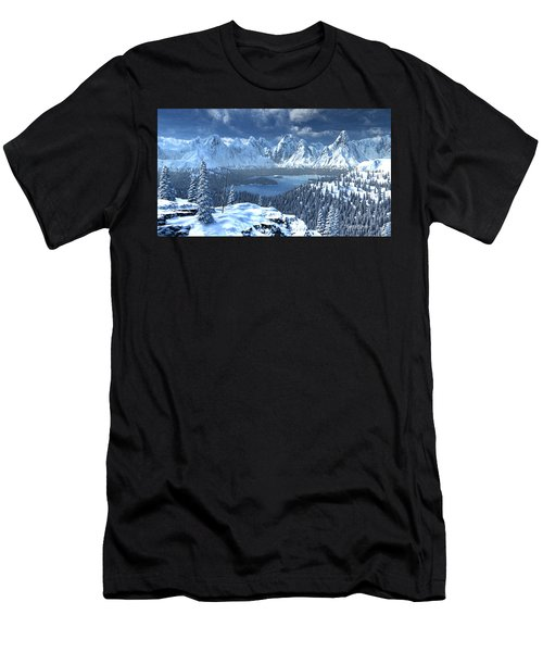 From An Open Sleigh Men's T-Shirt (Athletic Fit)