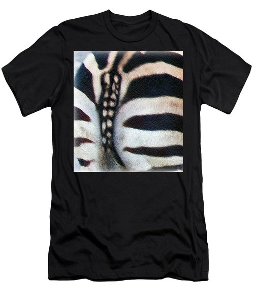 From Behind Men's T-Shirt (Slim Fit) by Hanny Heim