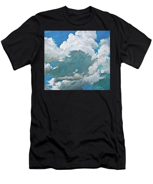 Men's T-Shirt (Athletic Fit) featuring the painting From Both Sides Now by Cliff Spohn