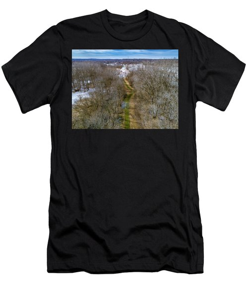 From Woods To Snow Men's T-Shirt (Athletic Fit)