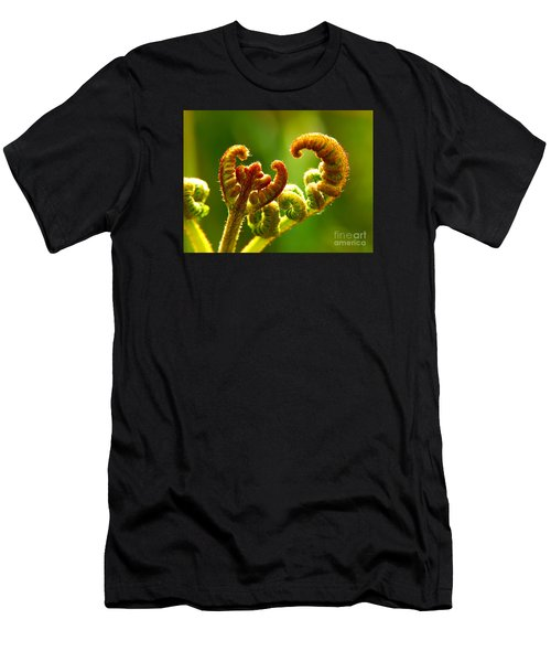 Frond Fern Men's T-Shirt (Athletic Fit)