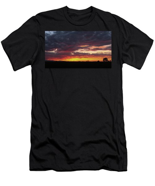 Front Range Sunset Men's T-Shirt (Athletic Fit)