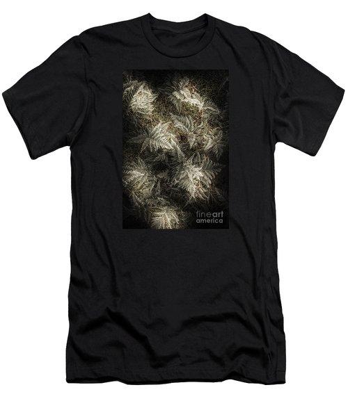 Frost Ferns Men's T-Shirt (Athletic Fit)