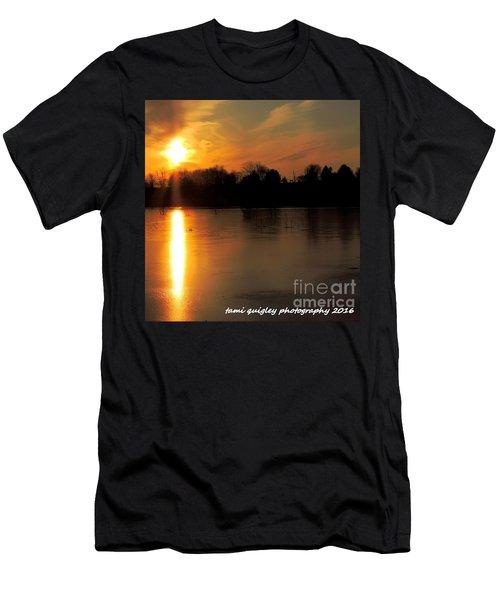Frost Fire  Men's T-Shirt (Athletic Fit)