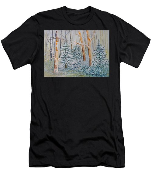 Winter Frost Men's T-Shirt (Athletic Fit)