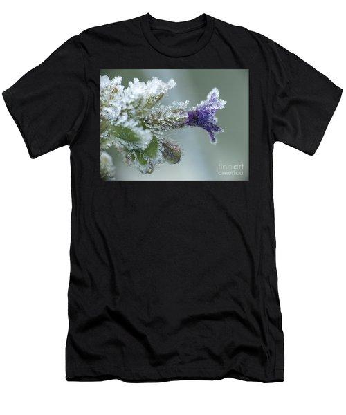 Frosty Flower Men's T-Shirt (Athletic Fit)