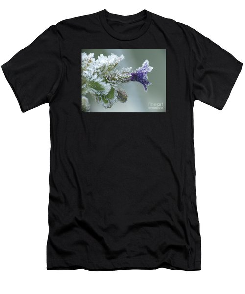 Frosty Flower Men's T-Shirt (Athletic Fit)