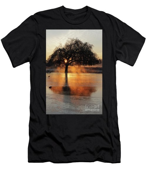 Frosty Sunrise In Bushy Park London 2 Men's T-Shirt (Athletic Fit)