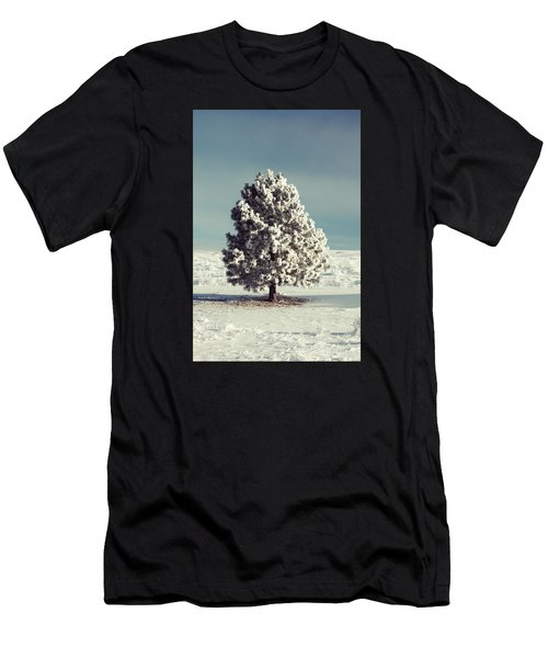 Frosty The Tree Men's T-Shirt (Athletic Fit)