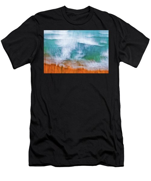 Men's T-Shirt (Athletic Fit) featuring the photograph Frothing Over by Az Jackson