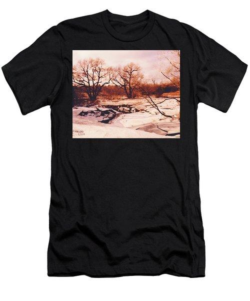 Frozen Creek Men's T-Shirt (Athletic Fit)