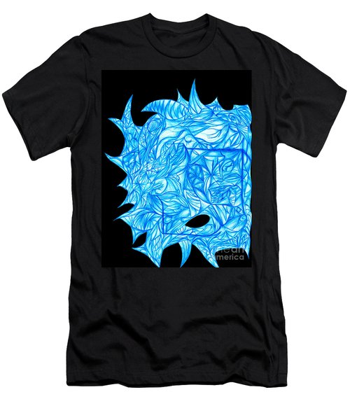 Men's T-Shirt (Slim Fit) featuring the drawing Frozen Desire by Jamie Lynn