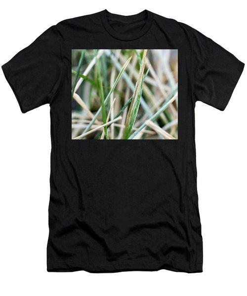 Frozen Grass Men's T-Shirt (Athletic Fit)