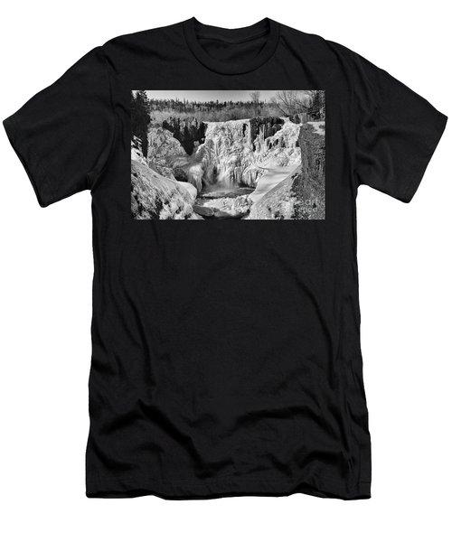 Frozen High Falls Men's T-Shirt (Athletic Fit)