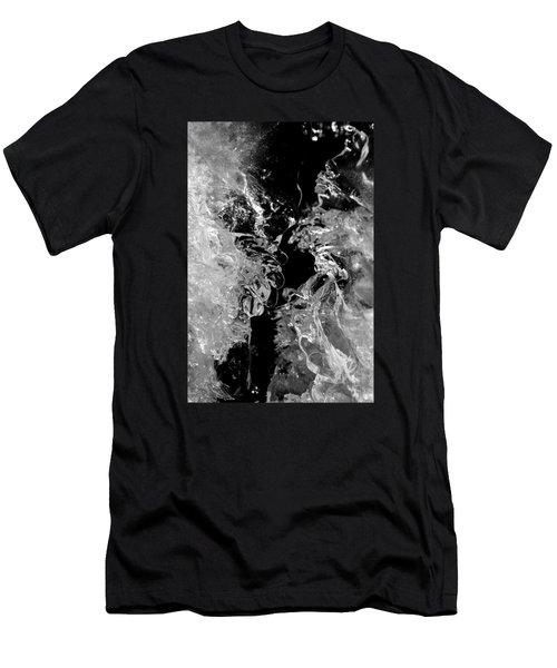 Frozen Illusion Men's T-Shirt (Slim Fit) by Konstantin Sevostyanov