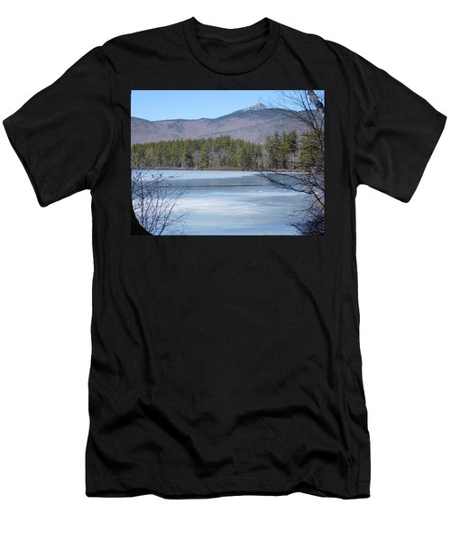 Frozen Lake Chocorua Men's T-Shirt (Athletic Fit)