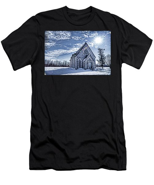 Frozen Land Men's T-Shirt (Athletic Fit)