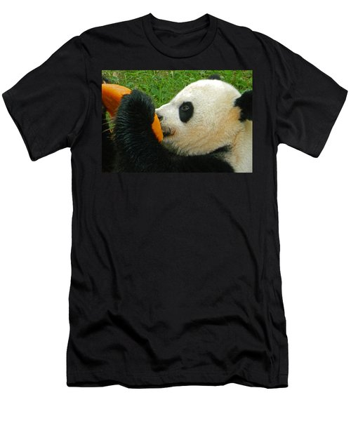 Frozen Treat For Mei Xiang The Giant Panda Men's T-Shirt (Athletic Fit)