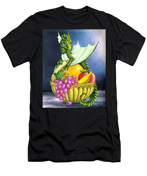 Fruit Dragon Men's T-Shirt (Athletic Fit)