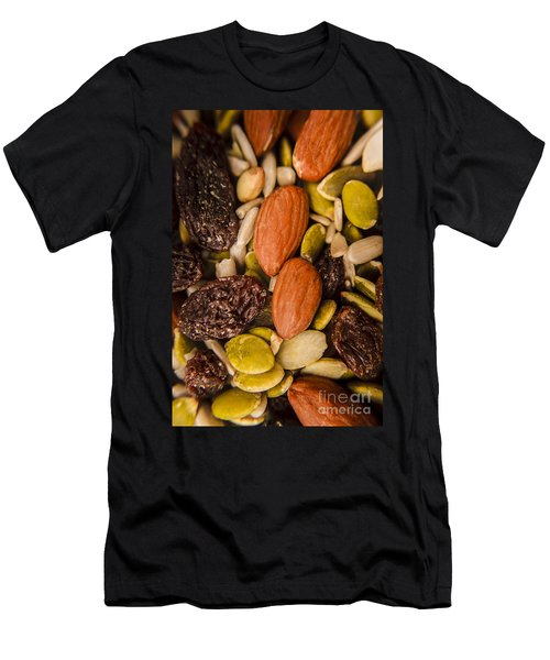 Fruit Nut And Seed Snack Mix Men's T-Shirt (Athletic Fit)