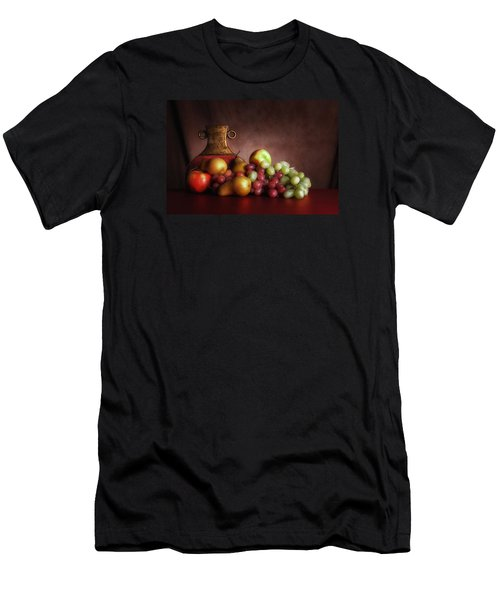 Fruit With Vase Men's T-Shirt (Athletic Fit)