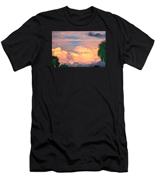 Ft De Soto Sunset Clouds Men's T-Shirt (Athletic Fit)