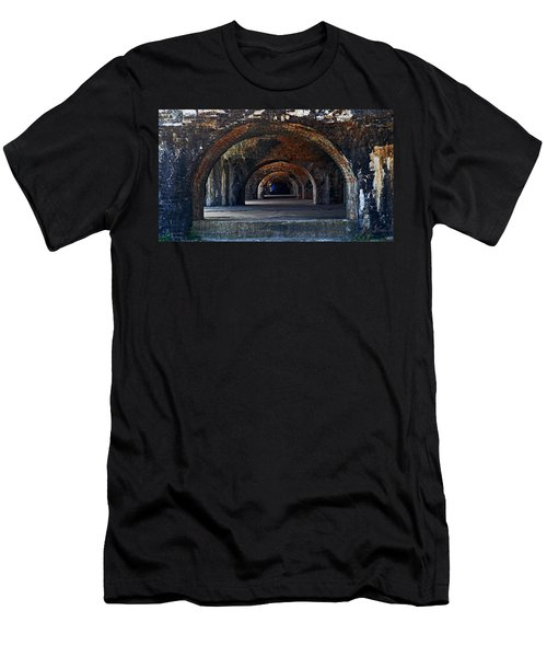 Ft. Pickens Arches Men's T-Shirt (Athletic Fit)