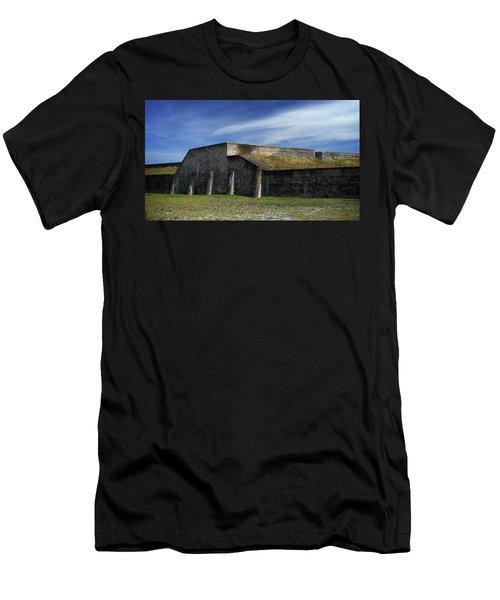 Ft. Pickens Moat Men's T-Shirt (Athletic Fit)