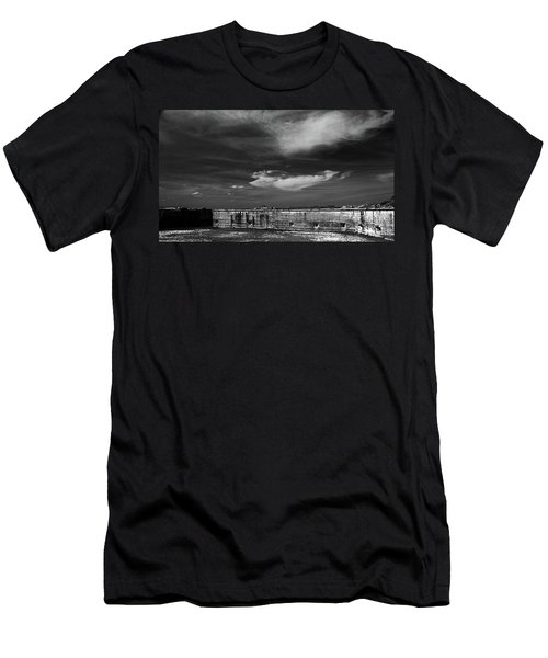 Ft. Pickens Sky Men's T-Shirt (Athletic Fit)