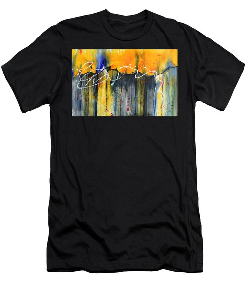 Fueled By The Wind Men's T-Shirt (Athletic Fit)