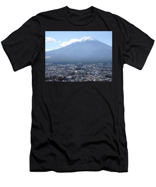 Fuji From Churei Tower Men's T-Shirt (Athletic Fit)
