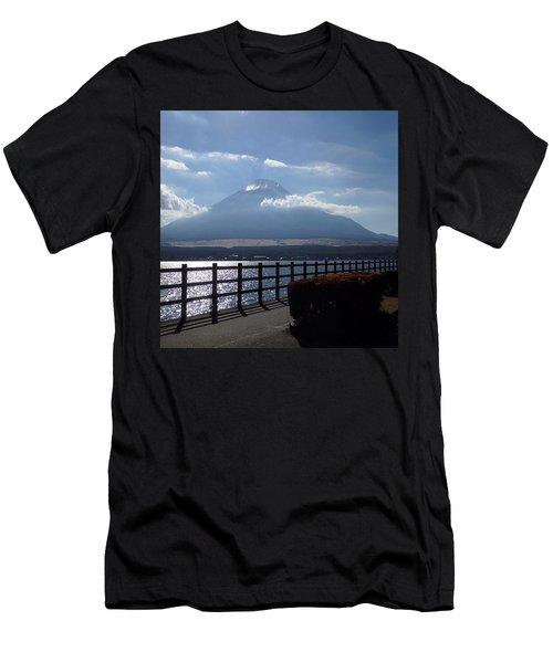 Fuji From Lake Yamanaka Men's T-Shirt (Athletic Fit)