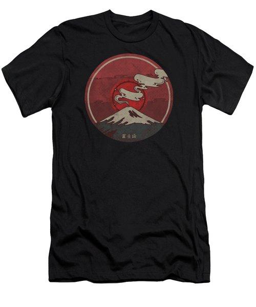 Fuji Men's T-Shirt (Slim Fit) by Hector Mansilla