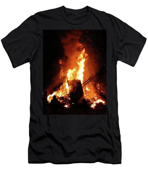 Full Bonfire Men's T-Shirt (Athletic Fit)