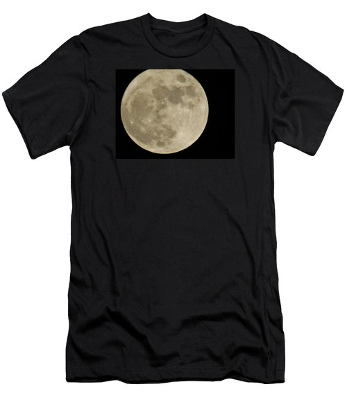 Full Moon 11/25/15 Men's T-Shirt (Slim Fit) by Mikki Cucuzzo