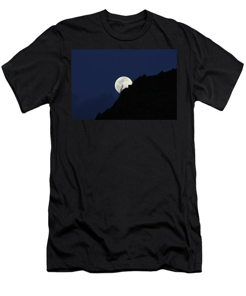 Full Moon Behind Makapu'u Men's T-Shirt (Athletic Fit)