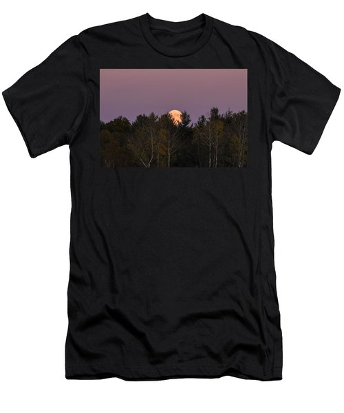 Full Moon Over Orchard Men's T-Shirt (Athletic Fit)