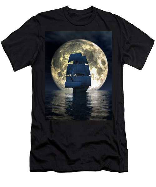 Full Moon Pirates Men's T-Shirt (Athletic Fit)