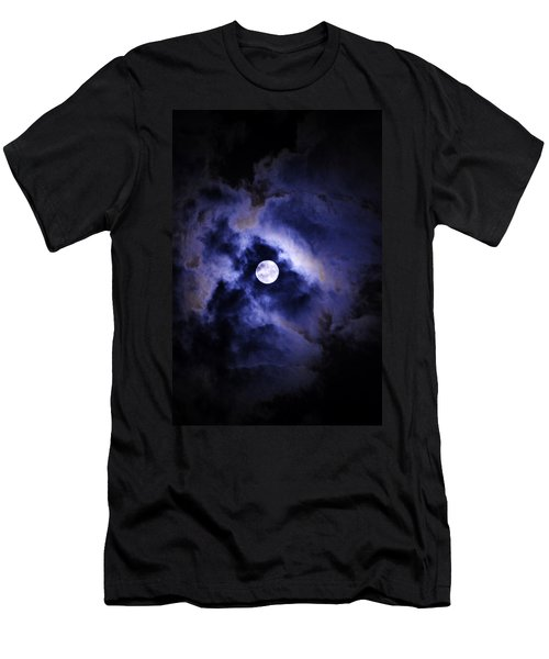 Men's T-Shirt (Athletic Fit) featuring the photograph Full Moon by W And F Kreations