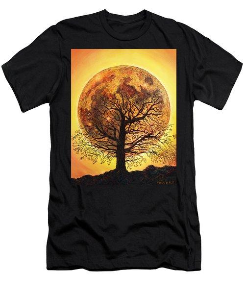 Full Moonrise. Men's T-Shirt (Athletic Fit)