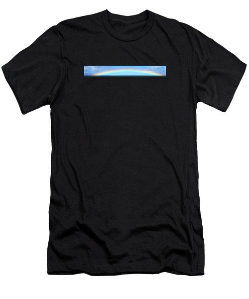 Full Rainbow Men's T-Shirt (Athletic Fit)