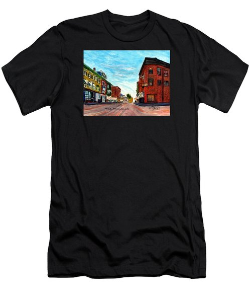 Fuller Building  Men's T-Shirt (Athletic Fit)