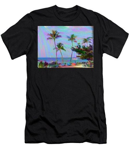 Fun At The Beach Men's T-Shirt (Athletic Fit)