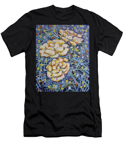 Fun Flowers Men's T-Shirt (Athletic Fit)
