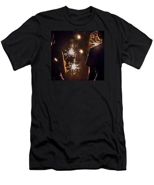 Fun On The 4th Men's T-Shirt (Slim Fit) by Carlee Ojeda