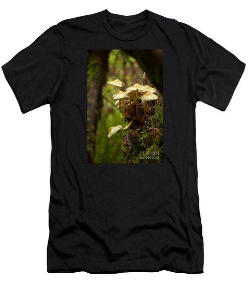 Fungal Blooms Men's T-Shirt (Athletic Fit)
