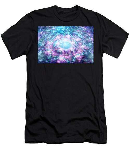 Men's T-Shirt (Athletic Fit) featuring the digital art Funky Dream by Michal Dunaj