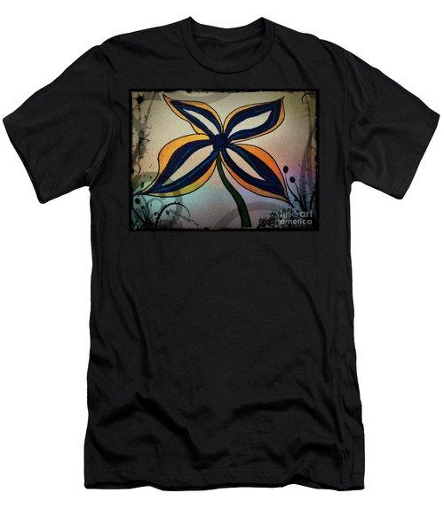 Funky Flower Men's T-Shirt (Athletic Fit)
